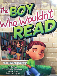 The Boy Who Wouldn't Read by Denise McConduit
